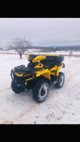Can Am Outlander XT $7,500 OBO