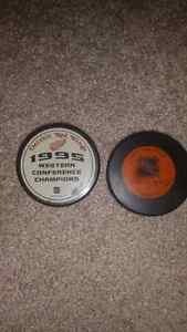 Redwings Hockey Pucks Kitchener / Waterloo Kitchener Area image 3