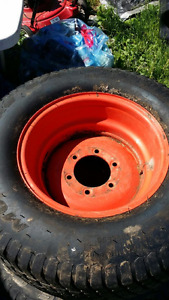 Kubota turf tires set of 4 plus 1  Cocagne, NB