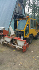 Trackless 4x4 Utility Tractor, Plow, Blower, Mowers and Broom