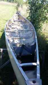 Canoe - 16.5 ft Fiberglass Kawartha Lakes Peterborough Area image 1