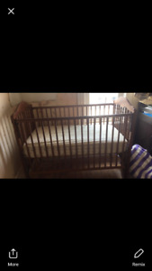 Crib Without Mattress disassembled