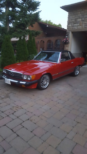 1982 mercedes 380SL full working great condition