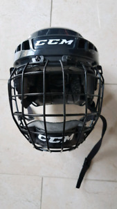 CCM Skating helmet with face guard