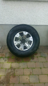 Toyota Hilux Alloy and Tyre never used