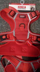6 X Kong dog harnesses all brand new