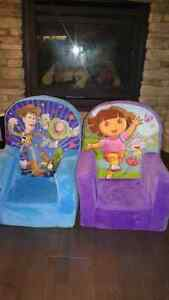 Foam chair furniture Dora & Toy Story