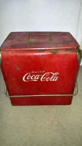 Early Coca Cola Cooler