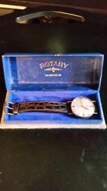 15/18ct Gold Rotary Swiss Incablac watch