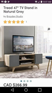 Brand new wayfair tv stand and side tables