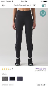 LULULEMON womens NEW with tag Pants