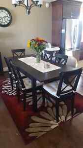 IKEA Dining table and 6 chairs Windsor Region Ontario image 1