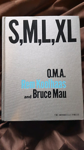 S,M,L,XL Architecture book by O.M.A., Rem Koolhaas and Bruce Mau