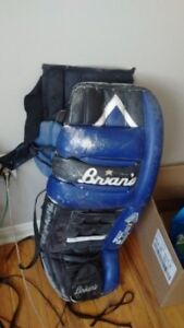 Goalie Pads and Life Jacket for Sale in good condition