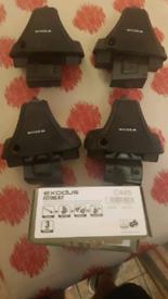 Mondeo Mk4 roof bar fitting kit