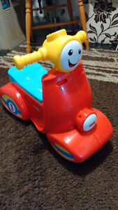 Perfect condition Fisher Price scooter