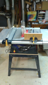 Table Saw, MasterCraft 10 inch, with stand