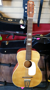 Vintage Stella acoustic guitar by Harmony