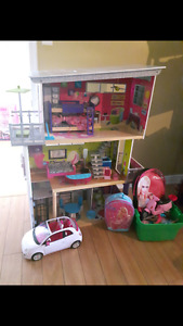 Barbie house and much more!