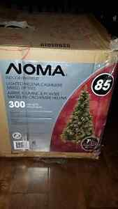 NOMA 7 Ft Lighted Helena Cashmere mixed tip Christmas Tree London Ontario image 2