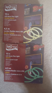 New in box 15ft Neon Flex light strip