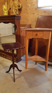 Corner and side table