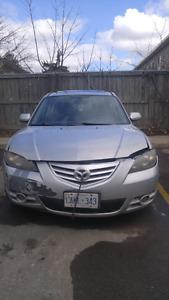 2004 Mazda 3 /Manual / 168km / $600
