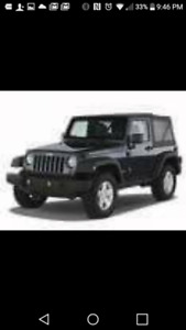 2008 2 dr soft top Jeep Wrangler X standard