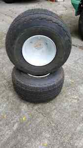 Trailer Tires 18.5 x 8.5 - 8   Set of 2