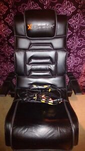 X-Rocker gaming chair w/sounds & vibration