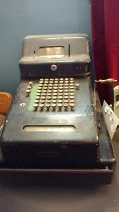 100 year old gascash register
