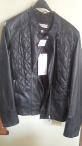 Price Reduced NEW Danier Leather Jacket Size Small-tags attached
