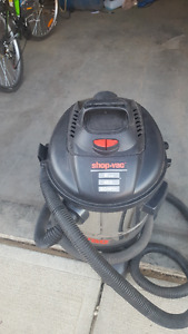 Stainless Steel Shop Vac 12 Gallon 6hp