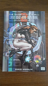 Ghost in the Shell manga books