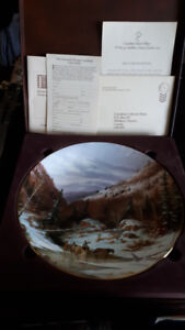 Selling some collectible plates and sword