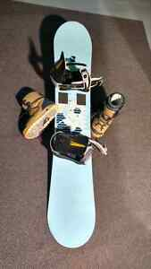 Women's Snowboard Bindings and Boots