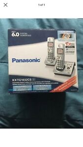 Panasonic wireless phones w/chargers