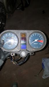Honda cb400 speedometer and tachometer