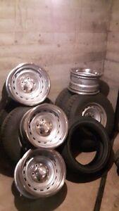 4 - 8 x 15 inch GMC or Chev. Rally Wheels.