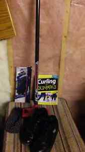 Curling gear !! Just in time for the season !!