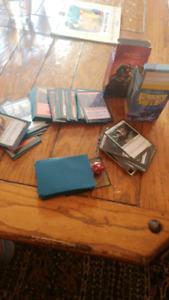 Magic the Gathering Cards (with card sleeves)