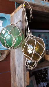Antique Nova Scotia Glass fishing floaters