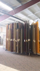 Area rug racks and rugs all sizes starting at $450