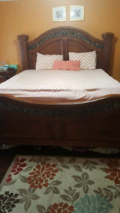 King size bed with everything 499 O.B.O