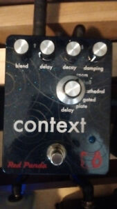 Sweet high end pedals for trade