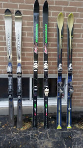 Three pair of skis. $100 for all