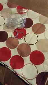 Shower curtain and 12 rings Kitchener / Waterloo Kitchener Area image 1