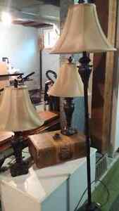 Set of 3 lamps for sale