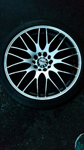 "18"" Advanti Racing Rims + Michelin Sport Tires"