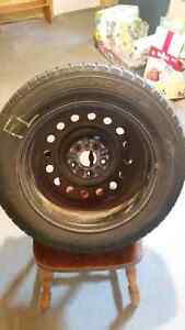 16 inch steel rims with snow tires